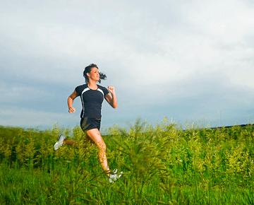 hardlopen leende